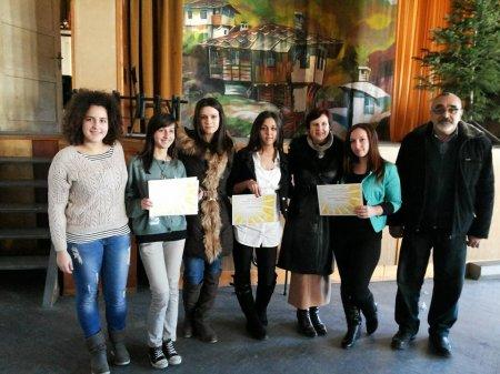 Участниците в конкурса за есе получиха своите награди