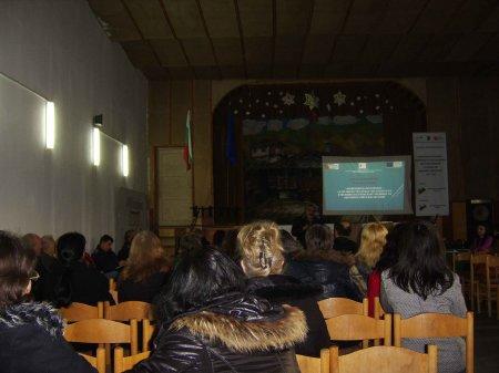 """Проект  """"Превенция и образование""""  бе представен пред родителите"""