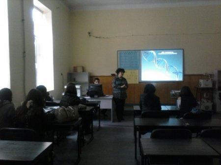Открит урок по биология и здравно образование