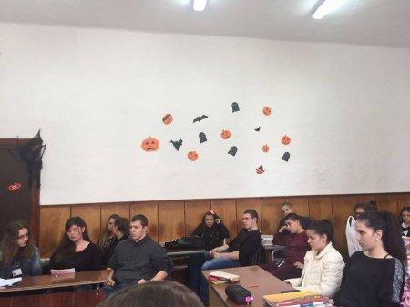 """Halloween в Гимназия """"Д-р Иван Панов"""""""
