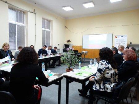 """Първа работна среща на партньорите по Проект """"The 4S – Study, Support, Share, Succeed"""""""