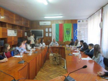 Берковица с младежко общинско ръководство за един ден